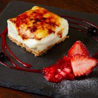 ブリュレチーズケーキの画像